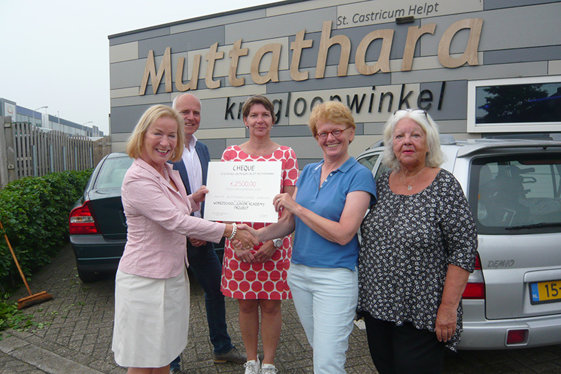 Muttathara steunt Worldschool Junior Academy Project van Jac. P. Thijsse College
